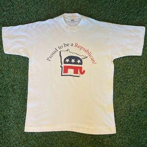 "🐘""Proud to Be a Republican"" Minnesota Shirt"